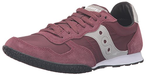 (Saucony Originals Women's Bullet-W Heritage Running Shoe, Burgundy, 6.5 M US)