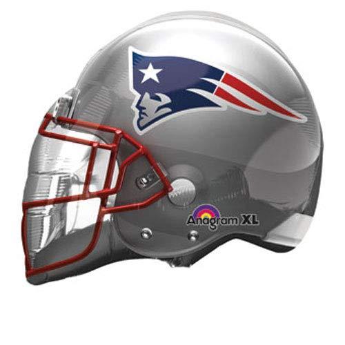 Anagram 26297 NFL New England Patriots Football Helmet Foil Balloon, 21