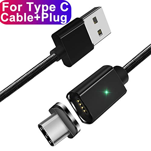Amazon.com: Essager - Cable USB magnético tipo C 3 A, cable ...
