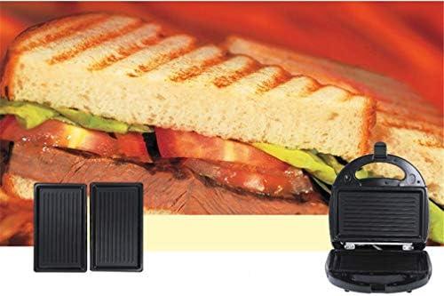 WZJN Appareils À Sandwich Et Presses À Panini, Machines À Gaufres Et Croques, Gâteau Revêtement Anti-adhésif Maker Petit-déjeuner Machine pour Les Enfants