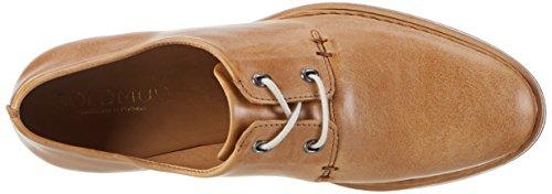 Goldmud Kosju, Zapatos de Cordones Derby para Mujer Beige (SATURINA CAMEL)
