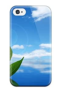 Forever Collectibles Fresh Leaf Boat Hard Snap-on Iphone 4/4s Case