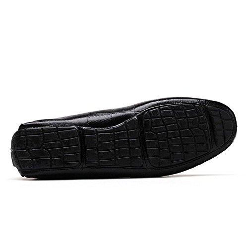 black Clasico Hombres 2 Zanpa Mocasines Tpaqa1
