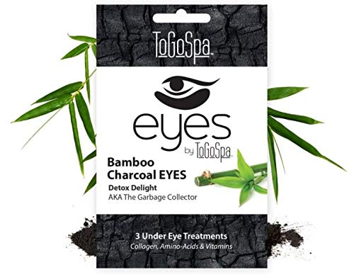 ToGoSpa Bamboo Charcoal Under Eye Repair Mask