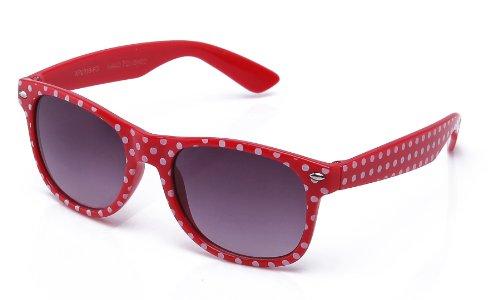 Kyra Kids Polka Dot Fashion Sunglasses in - In Bans Ray Girls