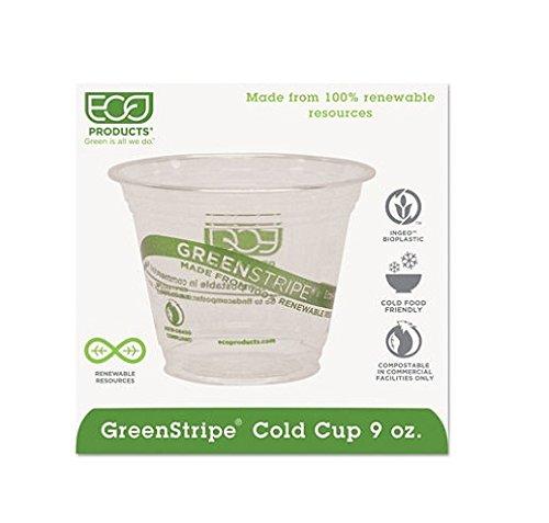 Eco-Products Compostable Cold Drink Cups, 9 oz. (1,000 ct.) by Eco-Products