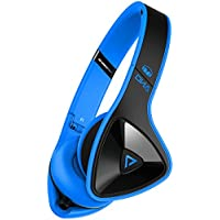 Monster DNA On-Ear Headphones with ControlTalk Cable for Apple iPod / iPhone - Laser Blue