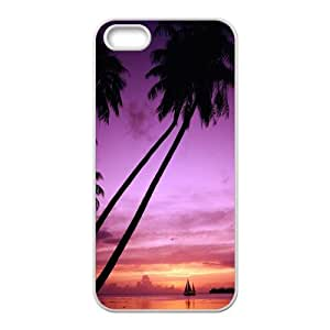 Beach The Sea SeaIsland For iPhone 5, 5S Csae TPU protection Case HYH715845