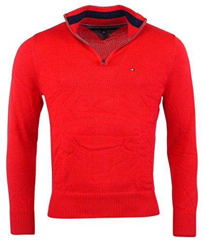 Tommy Hilfiger Mens Half Zip Sweater