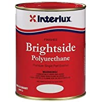 Interlux Brightside Polyurethane Topside Boat Paint Sea Green Quart by Interlux