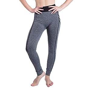 0e524f62a7 ZHRUI Hot Gym Yoga Leggings para Mujer Pantalones Pantalones