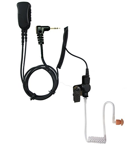 Pryme SPM-1363 Mirage Series Medium Duty 2 Wire Surveillance Headset for TC-320 and all New Motorola FRS & GMRS Radios