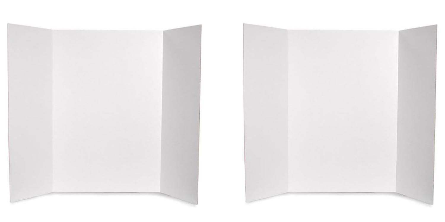 Darice 36-Inch-by-48-Inch Project Display Board 2pack