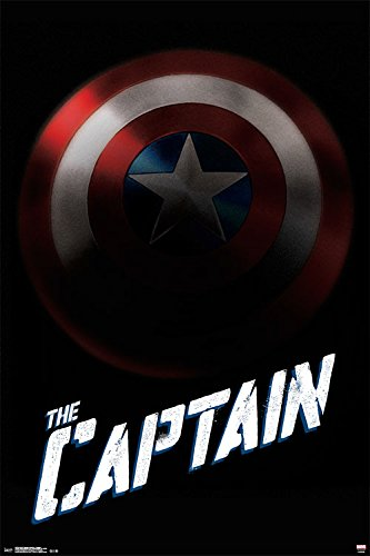 """Trends International Captain America Collector's Edition Wall Poster 24"""" x 36"""""""