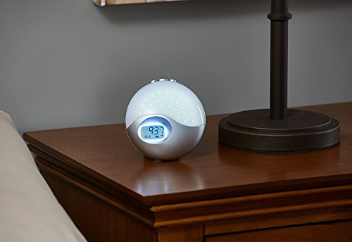 Travel Wake to Light Alarm Clock