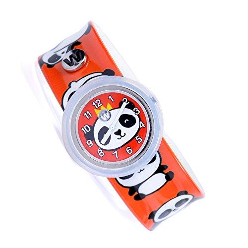 Watchitude Plunge Proof Slap Watch - Panda-monium - Kids Watch for Boys & Girls (Panda Watch)