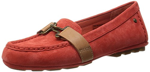 Detail With Australia Aven Buckle Ladies Metal Suede Pumps Orange Ugg 1010100 Hazard dX8wAq8