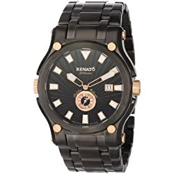 Renato Men's CRGR-A-CRGR-1019 Caliber Robusta Innovative Multiple Piece Case Design Watch