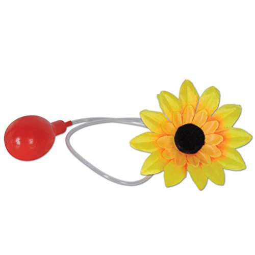 Boutonniere Costume (Beistle Squirting Flower Boutonniere, 51/2-Inch, Multicolor)