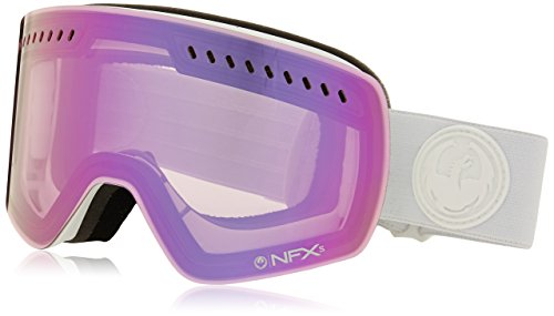 Dragon Alliance NFXS Ski Goggles, Whiteout-Pink - Dragon Goggles Nfx