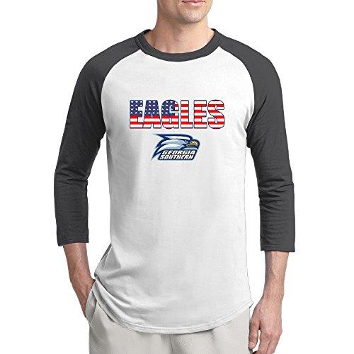 YFF Men's Best Georgia Southern Eagles Logo Baseball T Shirt