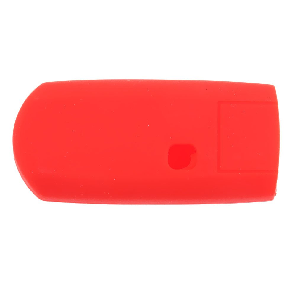 Jaune Sharplace 2 x /Étui de Cl/é Protecteur de T/él/écommande 3 Boutons en Silicone pour Mazda Rouge