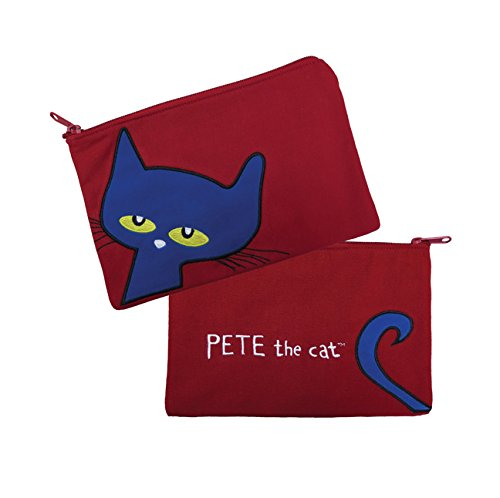 MerryMakers Pete the Cat Canvas Pencil Case, 6 x 9-Inches]()