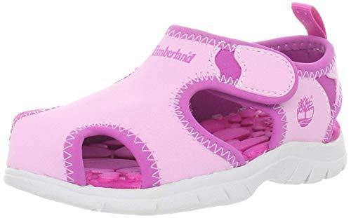 Timberland Little Harbor Sandal (Toddler/Little Kid),Pink Rose,4 M US Toddler