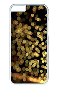 Blurry Sparks Custom iphone 6 plus 5.5 inch Case Cover Polycarbonate White