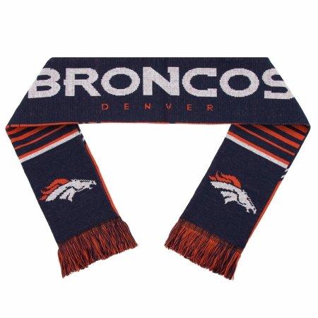 Forever Collectibles 9016316998 Denver Broncos Scarf - Reversible Stripe - 2016