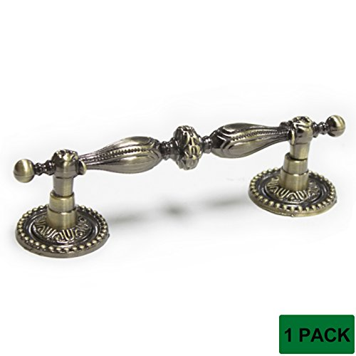 Antique 1 Handle - Probrico Cabinet Pulls 3.5 Inch Hole Spacing Furniture Handles And Knobs Bronze 1 Pcs