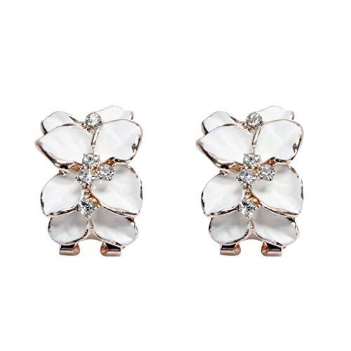 Hot New Arrival Luxury Women Floral Wedding Ceremony EarringsJewelry Fashion Lady Overhead Ear Stud Jewelry (Chandelier Collection Craftsman)