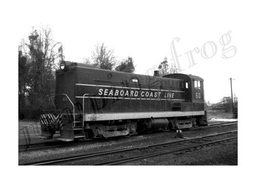 Seaboard Coast Line diesel locomotive #60 5x7 ()