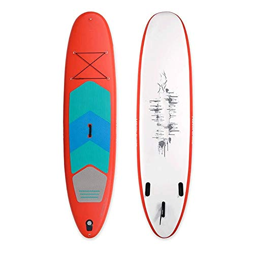 JNWEIYU-Sup-Paddle-Board-Paddle-Board-Double-Layer-Inflatable-Brett-Stnde-Stand-up-Wasser-Skifahren-Paddle-Board