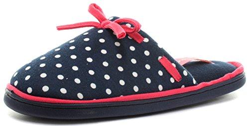 Dunlop Freesia Confezione Regalo Blu Da Donna Pantofole Mulo