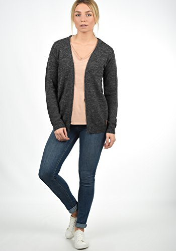 BLEND SHE Nena - Cardigan da Donna, taglia:M;colore:Charcoal (70818)