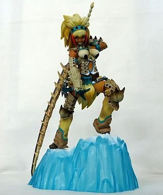 Most lottery Monster Hunter 3G D Award DX Hunter figure - Berio Series woman swordsman - Limited Color ver.