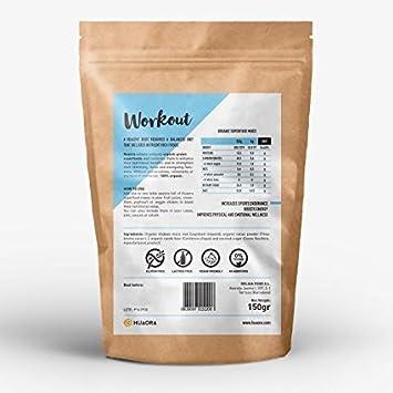 Huaora Workout - Aumentar la energía y el rendimiento en ejercicios de fuerza - Recuperar el tejido muscular tras el entrenamiento - Sin Gluten (150): ...