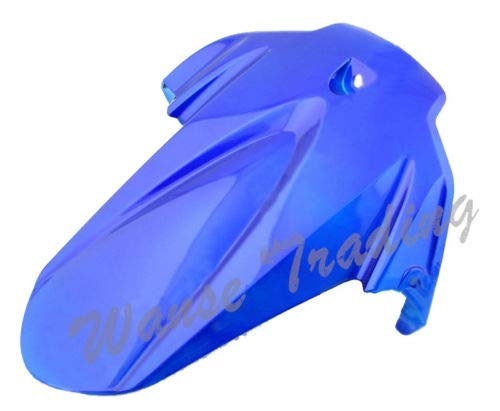 FidgetGear Rear Fender Mudguard Tire Hugger for 2009-2014 2010 2012 2013 Suzuki GSXR1000 K9 Blue