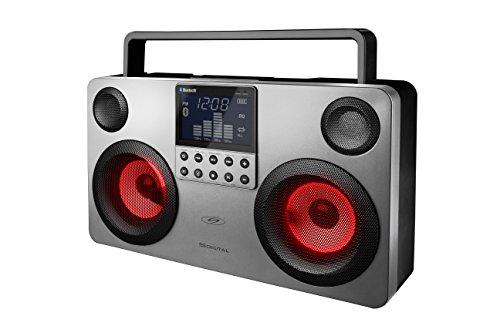 S-Digital GB3700D Digital Speaker – Bluetooth speaker met aux-in | 30 watt geluidsvermogen en lichtgewicht | Boombox…