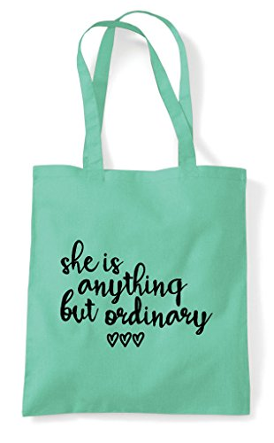 She Anything Ordinary Is Bag Statement Mint Shopper But Tote BwBZnrxqO