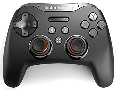 SteelSeries Stratus XL, Bluetooth Wireless Gaming Controller for Windows + Android, Samsung Gear VR, HTC Vive, and Oculus by SteelSeries APS