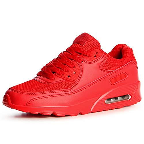 Couleur Topschuhe24 Sneaker De rouge Chaussures 37 Femmes Sport Pointure wq0ZnOwT
