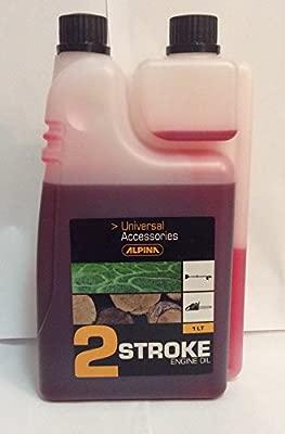 Alpina Aceite para motores 2t 1 lt: Amazon.es: Jardín