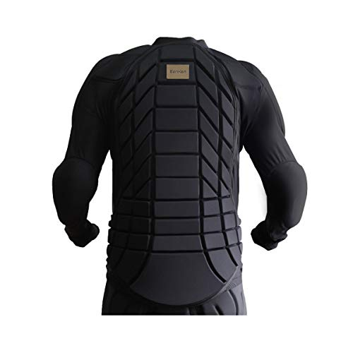 Hockey Body Armor - BenKen Cycling Ultra Light Upper Body Protective Gear Mountain Biking Long Armor Spine Back Protector