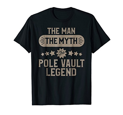 T-shirt Sayings Track (Pole Vault T-shirt for Men Track and Field Pole Vaulter Gift)