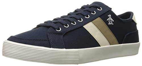 Original Penguin Men's Omni Fashion Sneaker, Navy Canvas - 12 D(M) US
