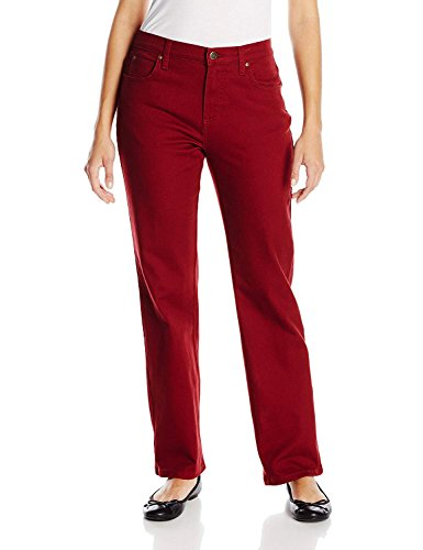LEE Women's Relaxed Fit Straight Leg Jean (Cinnamon, 6 Medium)