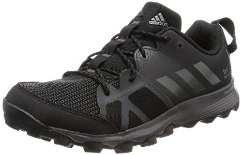 adidas Herren Kanadia 8 TR M Laufschuhe, Black (Negbas / Hiemet / Neguti), 44 2/3
