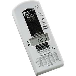 Gigahertz ME 3030B - Medidor de campo electromagnético (baja frecuencia, de 16 Hz hasta 2 kHz, - 2 dB)